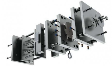 Professional production of dies and molds 2