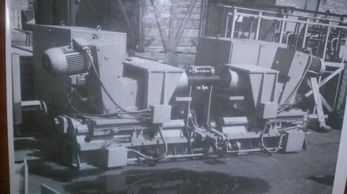 автоматизированная установка для производства роликов конвейерных