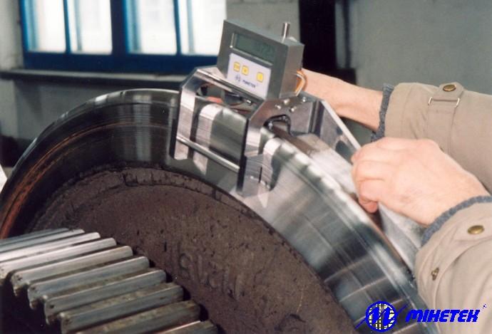 Накладной измеритель диаметров колес