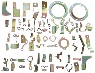 Stamping and extracting sheet metal parts 1