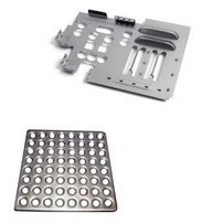 Stamping and extracting sheet metal parts 4