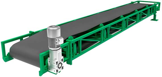 Band conveyor