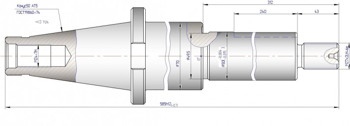 Оправка инструментальная ОФ-001