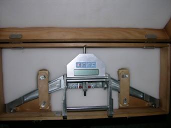 Накладной измеритель диаметра железнодорожных колес МЭЦИ-Д