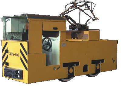 Contact electric locomotive ZKRA-600