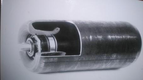 ролик конвейерный полученный методом выкатки из трубы