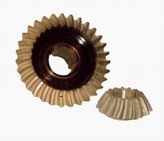 Шестерни с круговым зубом для угольных комбайнов