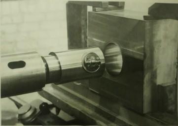 Раскатка отверстий на расточном станке
